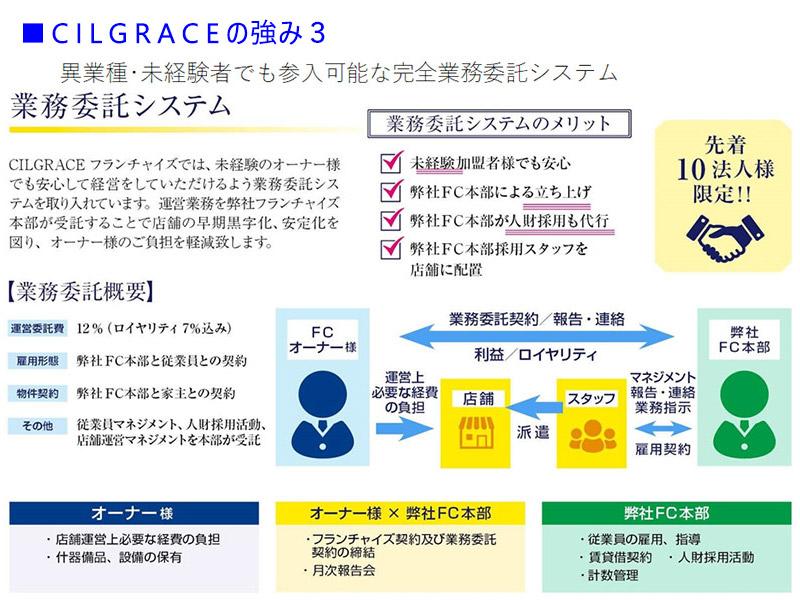 CILGRACE(シルグレイス) 強み3